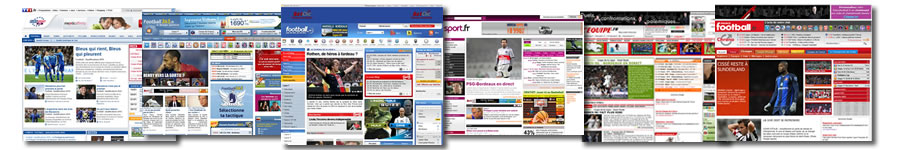 Les sites de foot